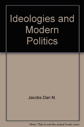 Ideologies and modern politics PDF