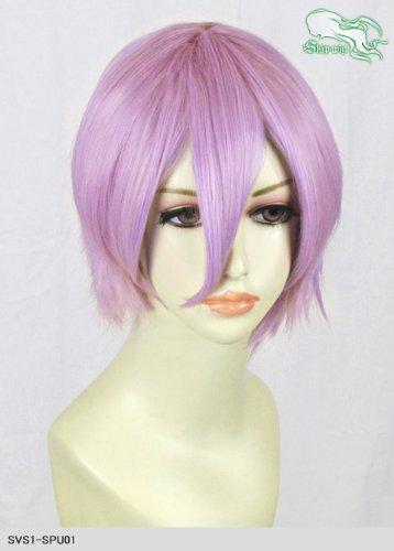 スキップウィッグ 魅せる シャープ 小顔に特化したコスプレアレンジウィッグ マニッシュショート ライトパープル
