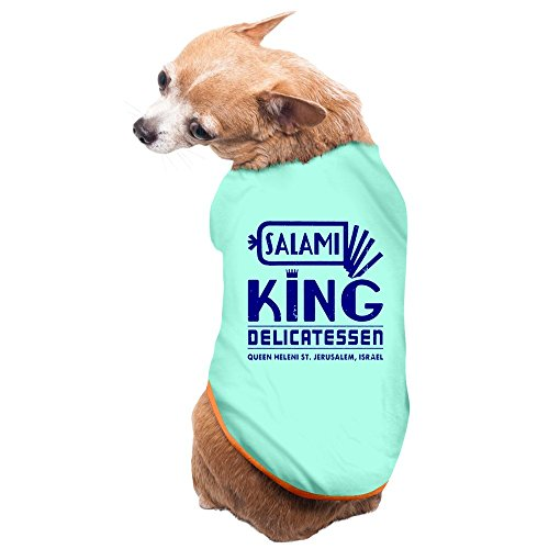 New Salami King Jewish Deli Pet Supplies Dogs T Shirts Custom (Deli Shirts compare prices)
