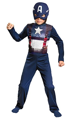 Captain America MOVIE Retro Basic Costume