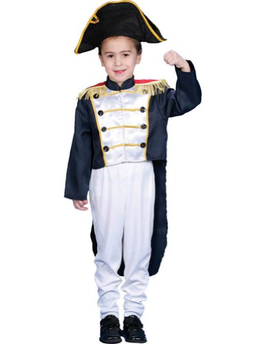 Colonial General Sm 4 To 6 Kids Boys Costume