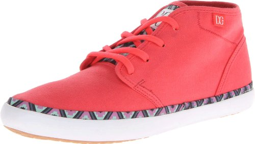 DC STUDIO MID LTZ J SHOE BK5, alto donna, Arancione (Orange (RED/GREEN/BLUE)), 40.5