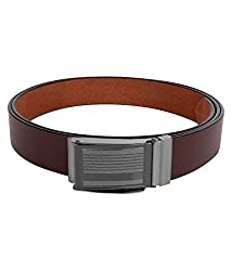 Dogwood Men's Leather Belt (8907124643415_Black)