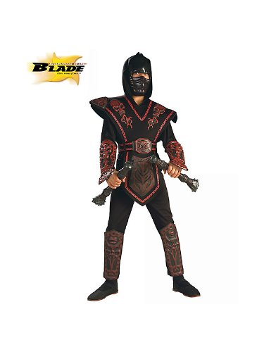 Red Skull Warrior Ninja Costume - Small