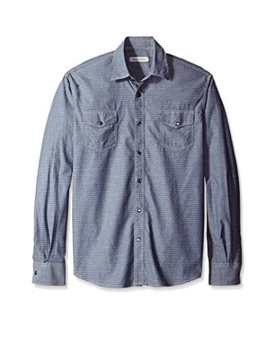 James Campbell Men's Gladstone Diamond Sport Shirt