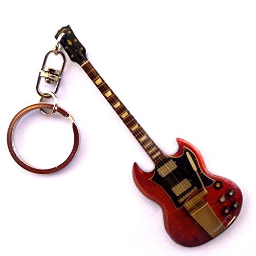 Portachiavi in metallo - AC / DC Angus Young Diavoletto Rossa