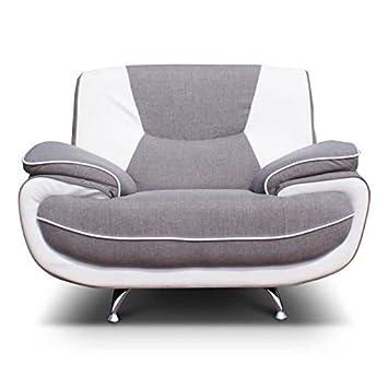 Spacio silla ST-1gris y blanco