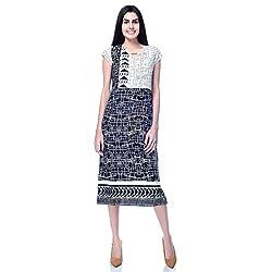 Desi Belle Casual Cap Sleeves Printed Women's Midi