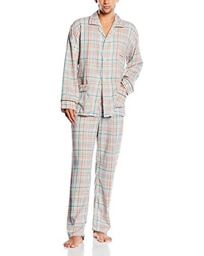 PLAJOL Pijama Gris / Multicolor