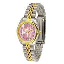 "Akron Zips NCAA Mother of Pearl ""Executive"" Ladies Watch"