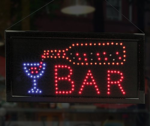 Man Cave Neon Signs For Sale : Lighted bar sign led neon man cave business