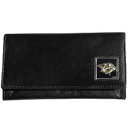 NHL Nashville Predators Genuine Leather Women's Wallet