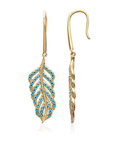BALI Jewelry Ohrringe vergoldetes Metall 18 kt
