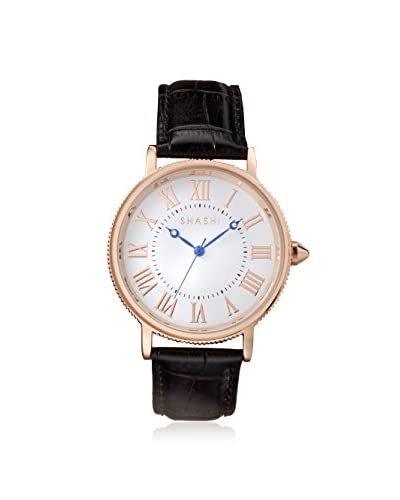SHASHI Women's CLASS-RG Black/Rose Gold Stainless Steel Watch