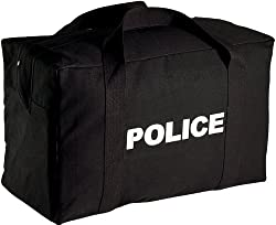 Black Two Sided POLICE Large Equipment Gear Bag