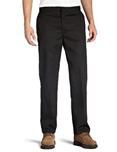 Dickies Men's Original 874 Work Pant, Black, 38W x 30L