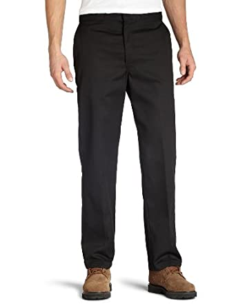 Dickies Men's Original 874 Work Pant, Black, 30x32