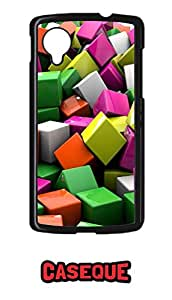 Caseque Cubox Back Shell Case Cover for Google Nexus 5