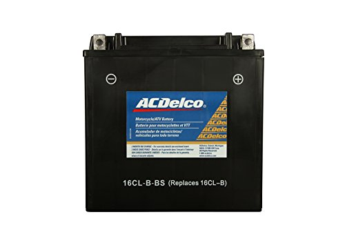 Acdelco Atx16Clbbs Specialty Powersports Agm Jis 16Cl-B-Bs Battery