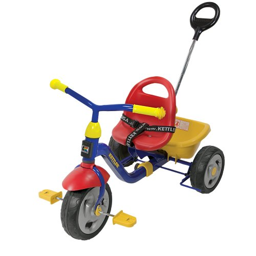 Kettler Kettrike Klassic Tricycle With Push Bar Amp Seatbelt