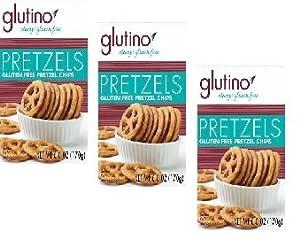 Glutino Pretzel Chips (3 Pack)