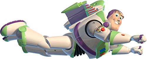 BUZZ LIGHTYEAR FYING Toy Story Decal Removable Graphic Wall Sticker Woody H125, Huge (Woody Wall Decal compare prices)