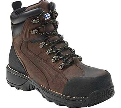 "Amazon.com: Men's 6"" Michelin Pile Driver Steel Toe Boots ..."