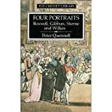 Four Portraits: Boswell, Gibbon, Sterne, and Wilkes (Cresset Library) (0091731496) by Quennell, Peter