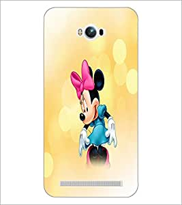 PrintDhaba Minnie Mouse D-4447 Back Case Cover for ASUS ZENFONE MAX ZC550KL (2016) (Multi-Coloured)