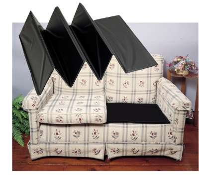 Top livingroom decorations rodeo bonded leather reclining for Sagging sofa bed cushion support