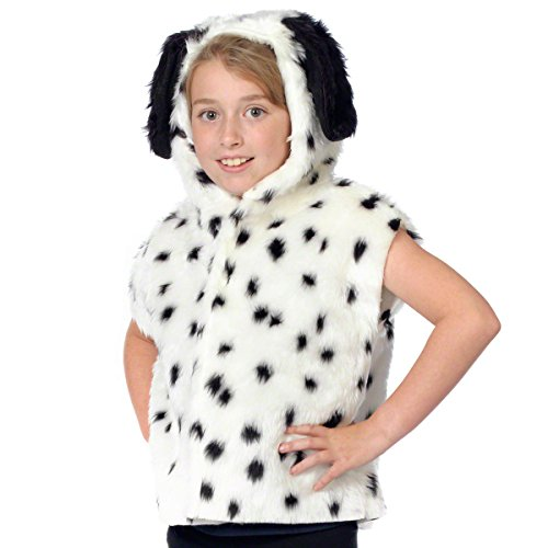 Dalmatian Costume for kids. One Size 3-9 Years.