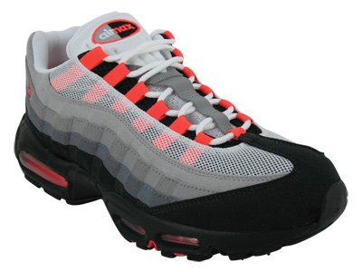 dbc454d713 We already have one of a kind deals for Nike Air Max 95 Mens Running Shoes [ 609048-106] White/Solar Red-Neutral Grey-Medium Grey Mens Shoes 609048-106 -13.
