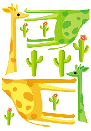 Damara Lovely Giraffe Children Room Decor Vinyl Wall Stickers