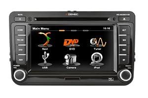 Zenec ZE-NC2011D Navigationssystem ( 6.5 Zoll Display,starrer Monitor, 16:9,Kontinent )
