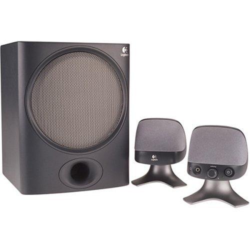 Logitech X-220 2 1 32 Watt SpeakersB0000C20V3 : image