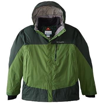 712d6b520 & Columbia Men's Lhotse Mountain II Interchange Extended Jacket (Big ...