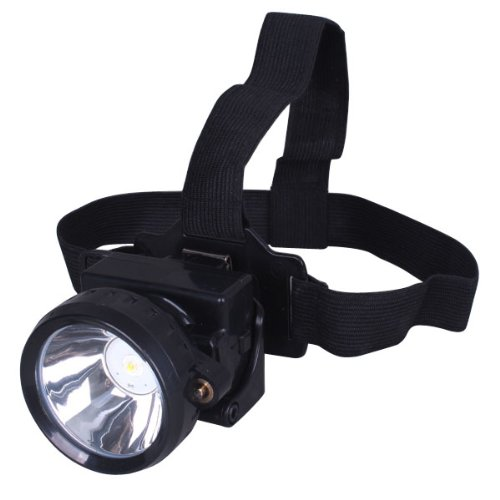 Gonex® 3W Kl2.8Lm Led Miner Headlight Lamp 2000/15000 Lux Mining Light Cap Lamp Explosion Shock Proof--You Can Also Use It From Camping/Fishing/Hiking.Ect