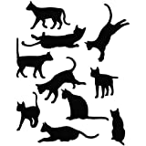 Cat Position Style - Animal Decal Vinyl Car Wall Laptop Cellphone Sticker