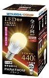 三菱 LED電球 PARATHOM(パラトン) 小形電球形 6.1W 全方向タイプ 口金E17 電球色 LDA6L-G-E17