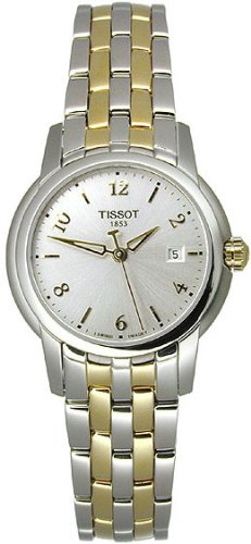 TISSOT Watch:Women's T-Ring Two Tone Stainless Steel Images