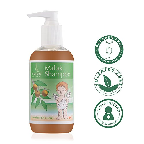 Mal'ak Gentle Natural Baby Shampoo & Body Wash, 8.4 fl oz