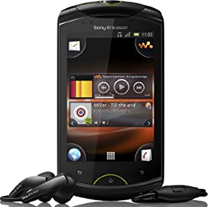 Sony Ericsson Live mit Walkman Smartphone (8,1 cm (3,2 Zoll) Display, Touchscreen, Android 2,3, 5 Megapixel Kamera) schwarz