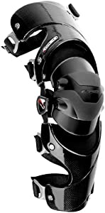 EVS Web Knee Brace - Left , Size: Lg, Distinct Name: Black, Primary Color: Black, Gender: Mens/Unisex XF72-3170