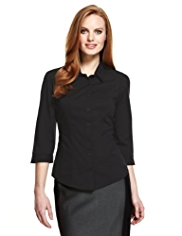 M&S Collection Classic Collar Shirt