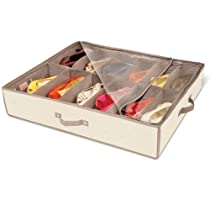 DAZZ Natural Canvas,Underbed Shoe Storage