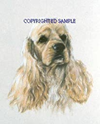 Cocker Spaniel - Portrait by Cindy Farmer, Buff