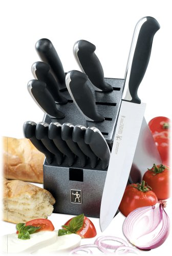 J.A. Henckels International Fine Edge Synergy 13-Piece Knife Block Set