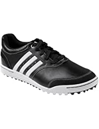 Adidas Mens Adicross Iii Golf Shoes 9 1/2 Us Medium Black/Black/White