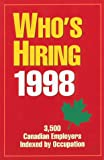 img - for Who's Hiring 1998 book / textbook / text book
