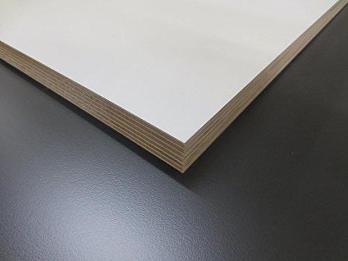 Multiplex-Wei-18-mm-Regal-Mbelbau-Zuschnitt-Holzzuschnitt-Holz-SperrholzLxBxH-mm-1200x500x18